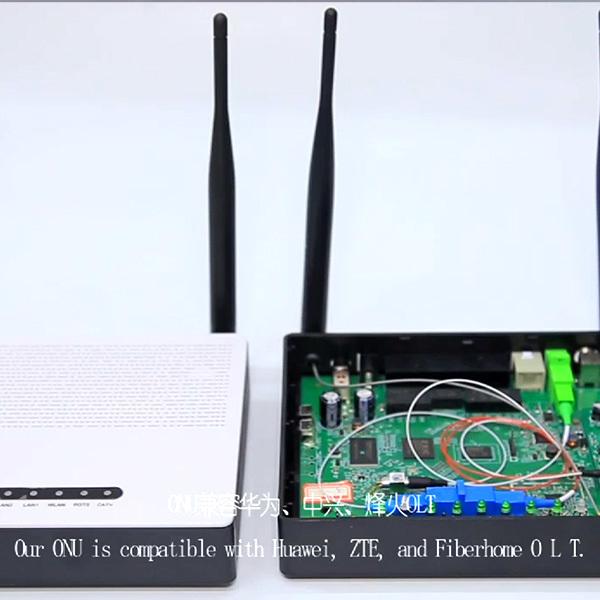 Yatai Yatai G/Epon ONU with wifi and CATV,ZTE chipset
