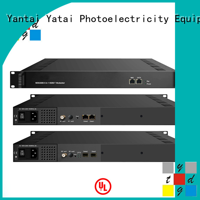 high quality digital modulator supplier for digital TV broadcasting