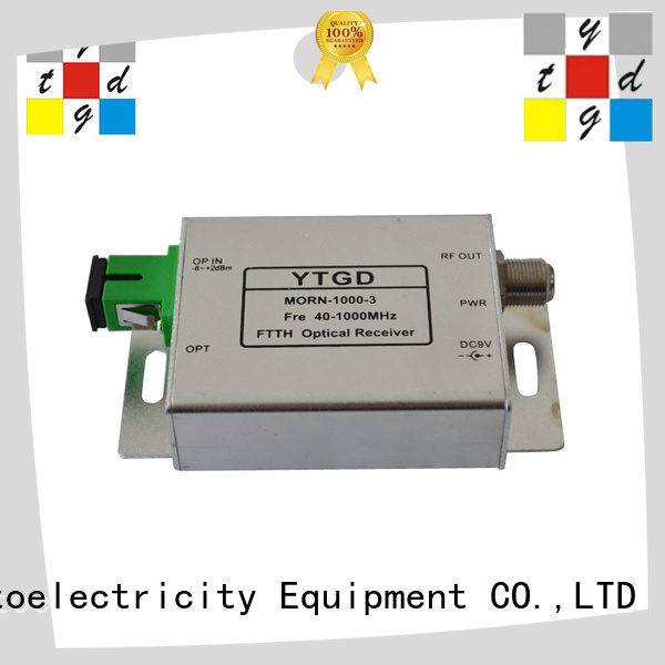 Yatai economical fiber optic receiver for company