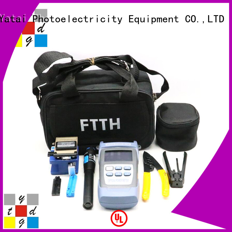 fast fiber optic kit with good price for outdoor