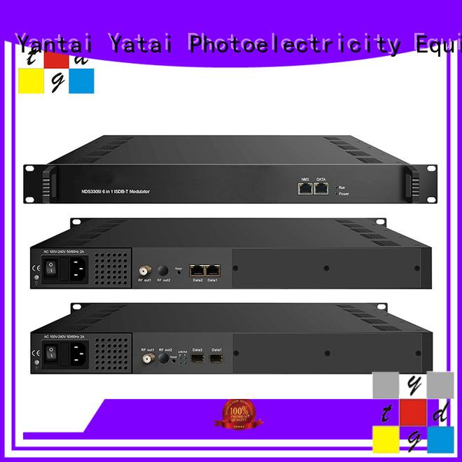Yatai qpsk modulator online for cable TV digital head-end