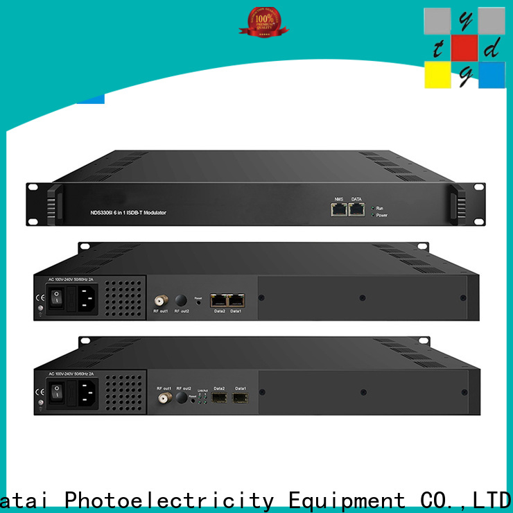 Yatai stable qpsk modulator online for digital TV broadcasting